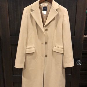 JCrew Wool and Cashmere dress coat